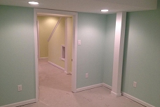 Basement Drywall and Paint